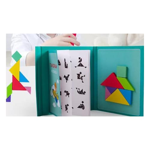 Magnetische Tangram-Puzzle: 4