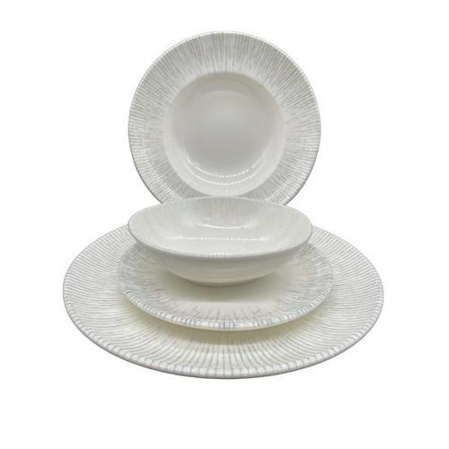 Tafelservice Geschirrset Tellerset 6 Personen Porzellan 24er Set Bonna Iris Gourmet Premium Geschirr