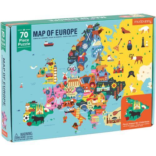 JAKO-O Puzzle Europa, bunt