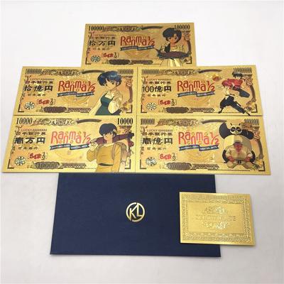 Ran-ma – billets de banque en or...