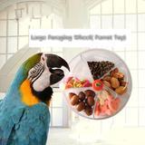 Mangeoires à oiseaux en acryliqu...
