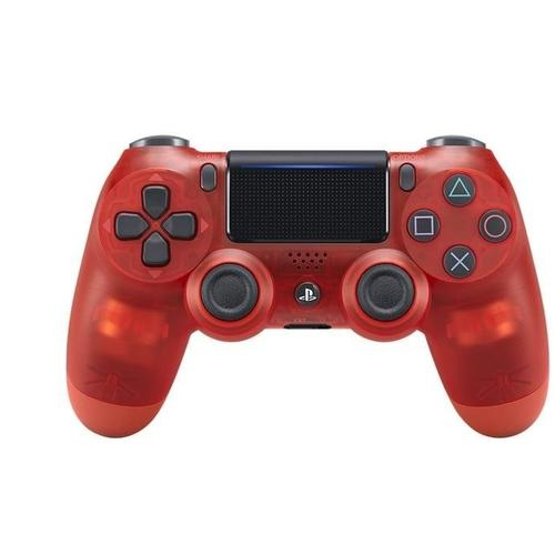 Sony PS4 DualShock 4 Wireless Controller red crystal