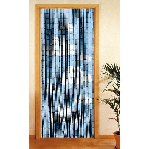WENKO Türvorhang, BxH: 90x200 cm blau Türvorhang Türvorhänge Weitere Gardinen Vorhänge