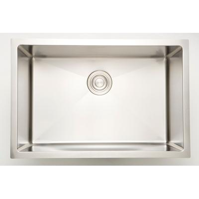 20.5-in. W CSA Approved Stainless Steel Kitchen Sink With 1 Bowl And 18 Gauge - American Imaginations AI-34456