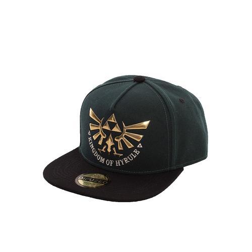 The Legend Of Zelda - Hyrule Green/Black - Caps