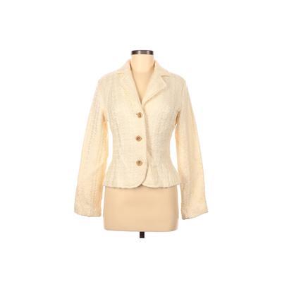 Apt. 9 Jacket: Ivory Solid Jacke...