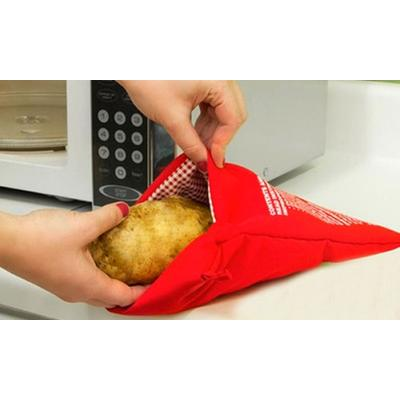 Microwave Potato Cooking Bag: Four