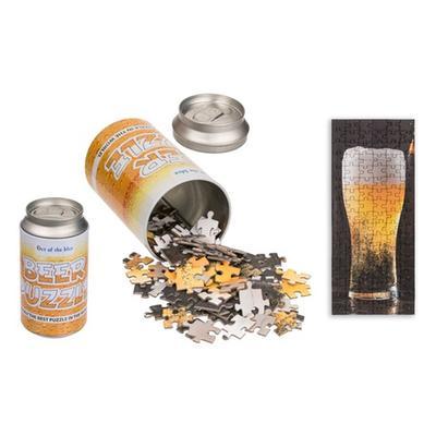 Puzzle de verre de bière 102 pièces avec emballage en forme de canette : x2