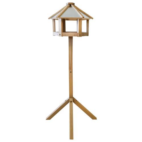 Esschert Design Vogelhaus Eiche Sechseckig