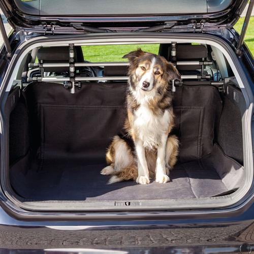 TRIXIE Kofferraumschutzdecke für Hunde 120x150 cm Schwarz