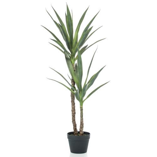 Emerald Künstliche Yucca im Topf 110 cm