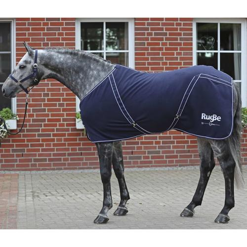 Covalliero Fleece-Pferdedecke RugBe Classic 125 cm Marineblau