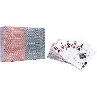Motorbike or Check Playing Cards: Check/Four Decks (Two Blue and Two Red)