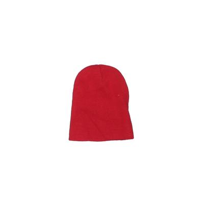 Beanie Hat: Red Solid Accessories