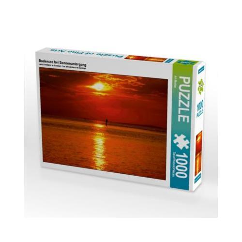 Bodensee bei Sonnenuntergang Foto-Puzzle Bild von Art-Motiva Puzzle