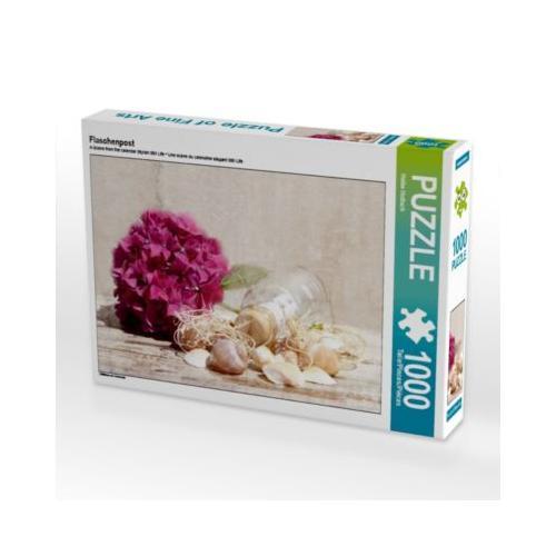 Flaschenpost Foto-Puzzle Bild von Heike Hultsch Puzzle