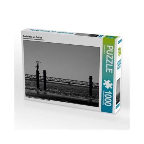 Seebrücke am Dollart Foto-Puzzle Bild von ropo13 Puzzle