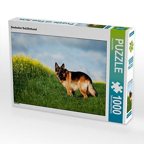 Deutscher Schäferhund Foto-Puzzle Bild von Petra Schiller Puzzle