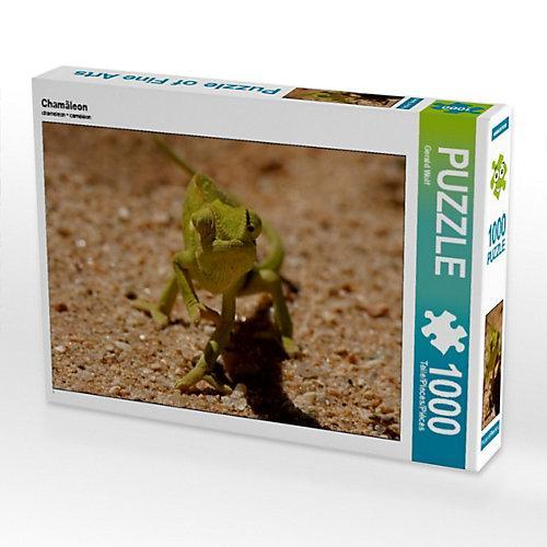Chamäleon Foto-Puzzle Bild von Gerald Wolf Puzzle