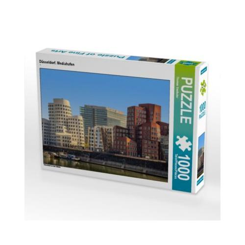 Düsseldorf. Mediahafen Foto-Puzzle Bild von Thomas Seethaler Puzzle