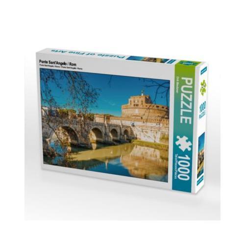 Ponte Sant'Angelo / Rom Foto-Puzzle Bild von Dirk Meutzner Puzzle