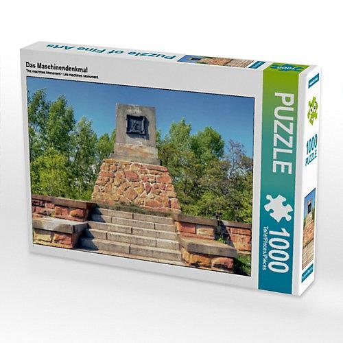 Das Maschinendenkmal Foto-Puzzle Bild von Steffen Gierok ; Magik Artist Design Puzzle