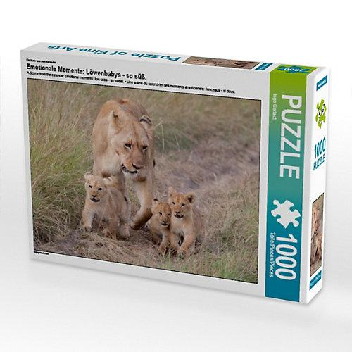 Emotionale Momente: Löwenbabys - so süß. Foto-Puzzle Bild von Ingo Gerlach Puzzle