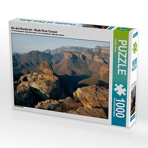 Die drei Rondavels - Blyde River Canyon Foto-Puzzle Bild von Frauke Scholz Puzzle