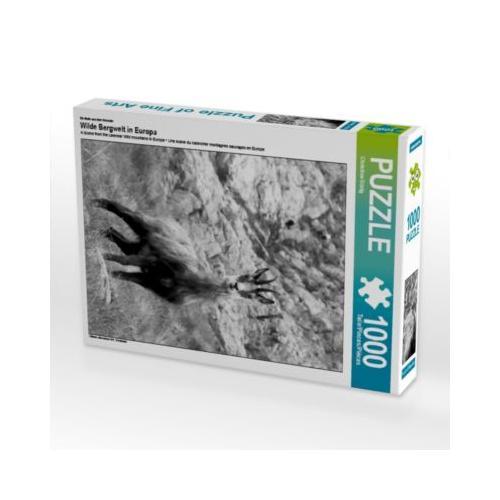 Wilde Bergwelt in Europa Foto-Puzzle Bild von Christine Goerig Puzzle
