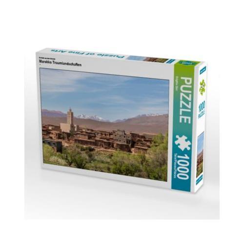 Marokko Traumlandschaften Foto-Puzzle Bild von Brigitte Dürr Puzzle