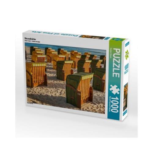 Strandkörbe Foto-Puzzle Bild von Gunter Kirsch Puzzle