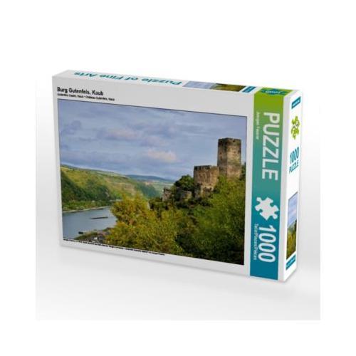Burg Gutenfels, Kaub Foto-Puzzle Bild von JF-Fotografie Puzzle