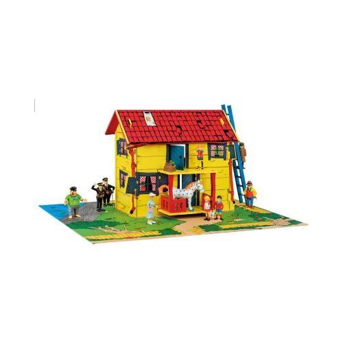Villa Kunterbunt Spielhaus mit Spielmatte