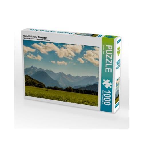 Allgäublick nähe Oberstdorf Foto-Puzzle Bild von Wenki Puzzle