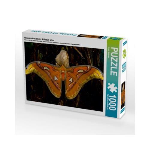 Atlasseidenspinner Attacus atlas Foto-Puzzle Bild von Frank Taeger Puzzle