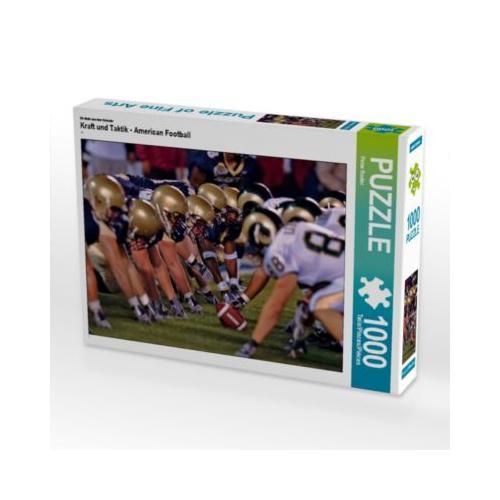 Kraft und Taktik - American Football Foto-Puzzle Bild von Peter Roder Puzzle