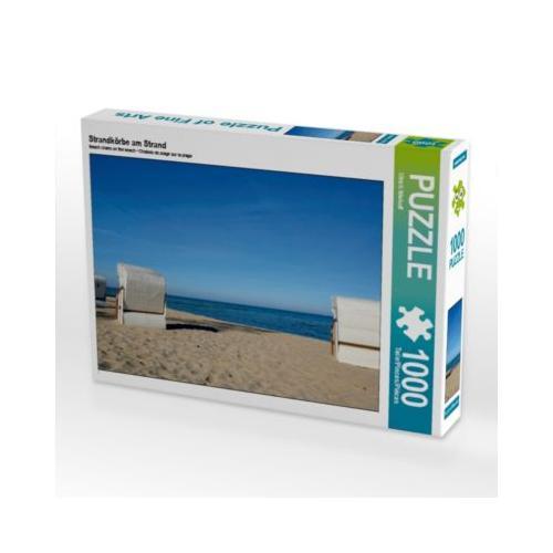 Strandkörbe am Strand Foto-Puzzle Bild von ulrich niehoff Puzzle