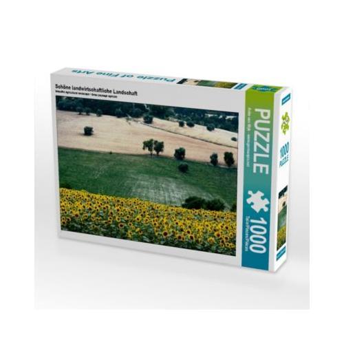 Schöne landwirtschaftliche Landschaft Foto-Puzzle Bild von Anke van Wyk Puzzle