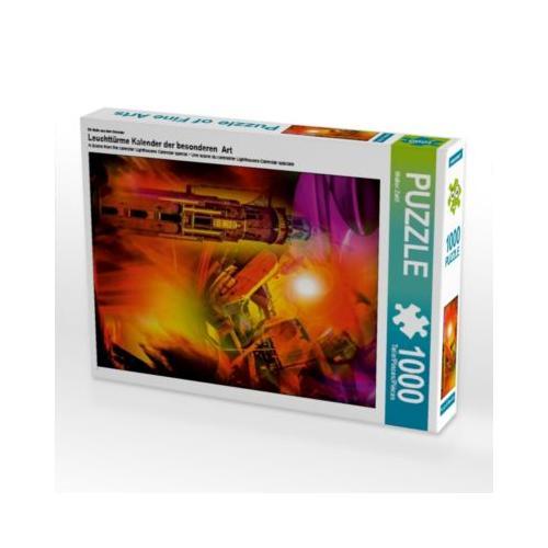 Leuchttürme Kalender der besonderen Art Foto-Puzzle Bild von Walter Zettl Puzzle
