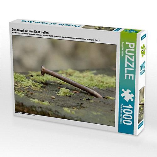 Den Nagel auf den Kopf treffen Foto-Puzzle Bild von Angelika Keller Puzzle