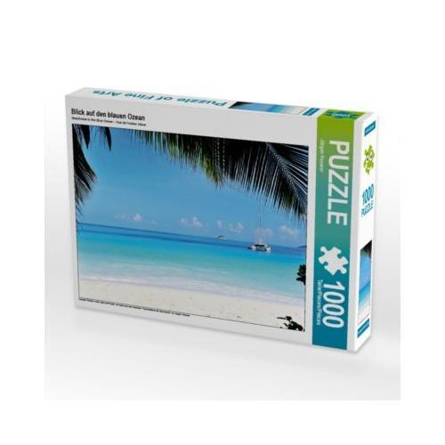 Blick auf den blauen Ozean Foto-Puzzle Bild von JF-Fotografie Puzzle