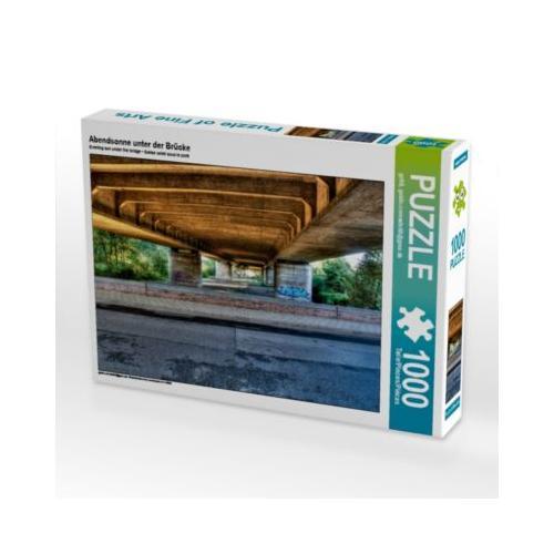 Abendsonne unter der Brücke Foto-Puzzle Bild von gc68 Puzzle