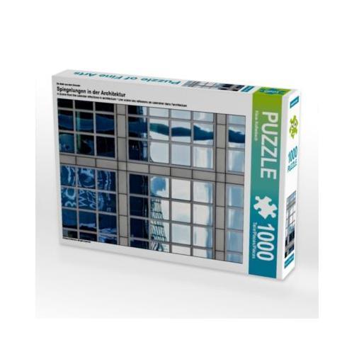 Spiegelungen in der Architektur Foto-Puzzle Bild von Klaus Kolfenbach Puzzle
