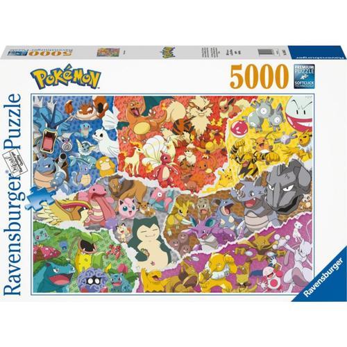 Puzzle 5000 Teile Pokémon Allstars