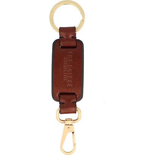 Duccio Schlüsselanhänger Leder 14 cm Schlüsselanhänger braun