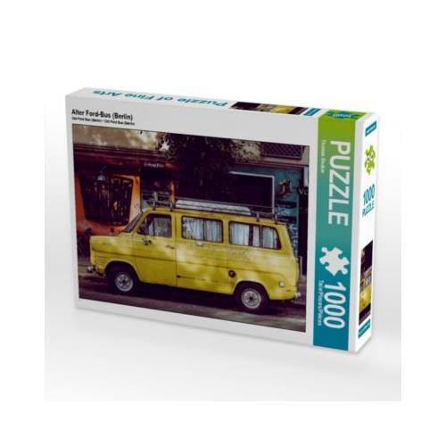 Alter Ford-Bus (Berlin) Foto-Puzzle Bild von Thomas Becker Puzzle