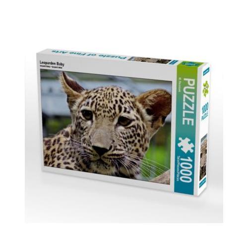 Leoparden Baby Foto-Puzzle Bild von Miroslav Reznicek Puzzle