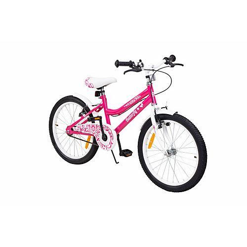 Kinder Fahrrad Butterfly pink/weiß