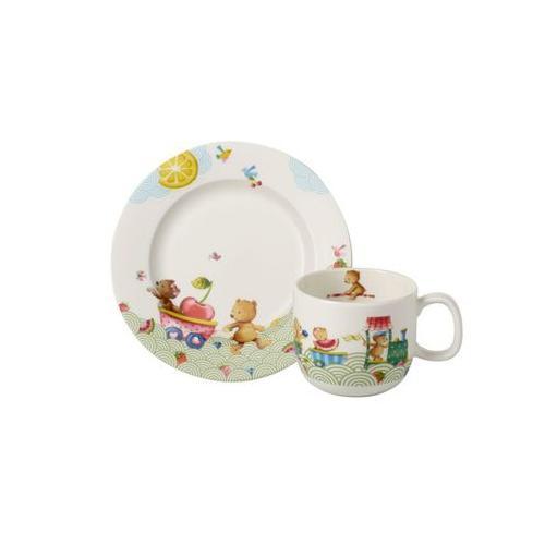 HUNGRY AS A BEAR Kinder Frühstücks-Set 2-tlg Kindergeschirrsets bunt