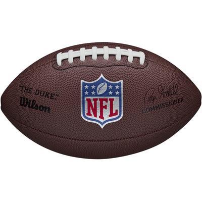 """Wilson Football NFL """"DUKE"""" REPLICA braun Kinder Ausrüstung Rugby Sportarten"""